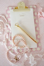 home accessory,pretty,girly,pencils,jewels