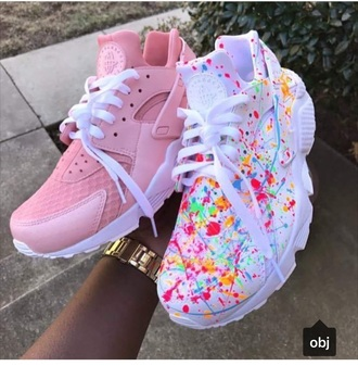 shoes hurraches nike customized girl
