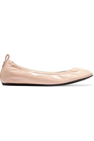 ballet flats ballet flats leather blush shoes