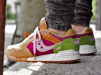 sneakers burger saucony multicolor sneakers shoes