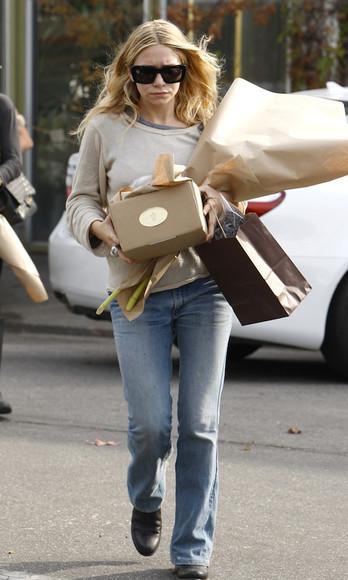 olsen sisters blogger sunglasses jeans