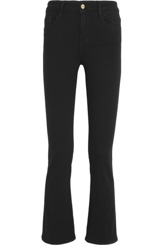 jeans mini black