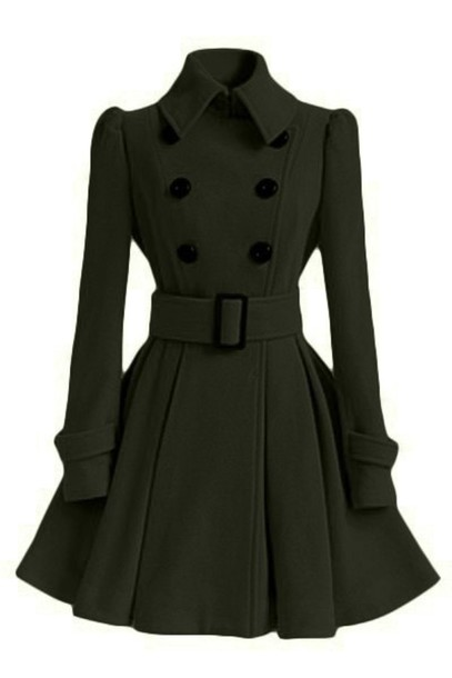 Coat: pin up, vintage, cute, cute dress, cute coat, vintage coat ...