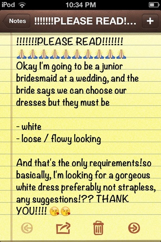 wedding bridesmaid white dress dress style me loose flowy dress gorgeous asos