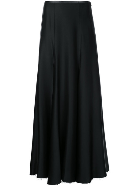 KHAITE skirt maxi skirt maxi women black