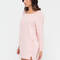 Lazy sundays cut-out sweatshirt dress hgrey blush black - gojane.com