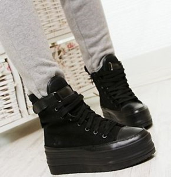 shoes grunge plateau shoes platform shoes goth