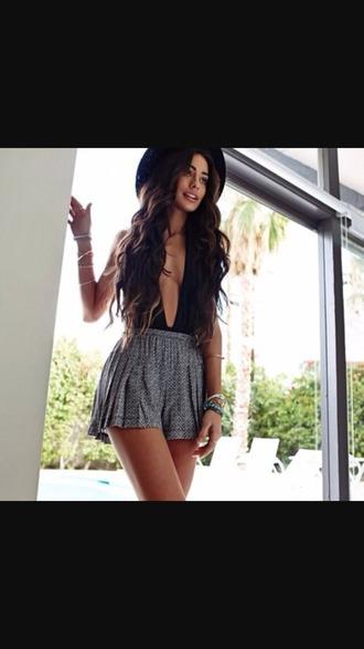shorts grey shorts idk cute shorts grey design pattern hat
