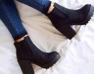 shoes little black boots boots black boots