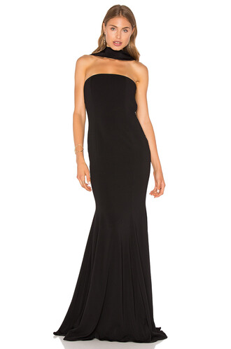 gown brooklyn black dress