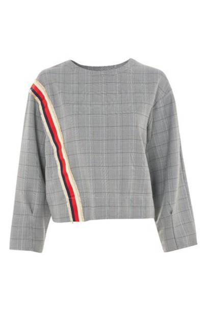 Topshop sweater monochrome