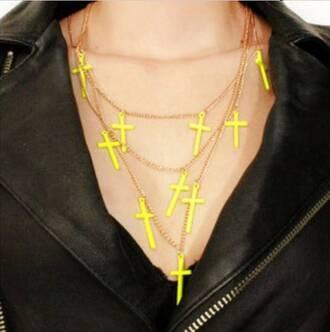 cross necklace jewels