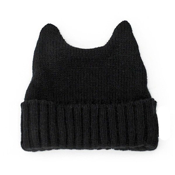 Amazon.com: LOCOMO Women Girl Cute Cat Ear Slouchy Knit Bean... - Polyvore
