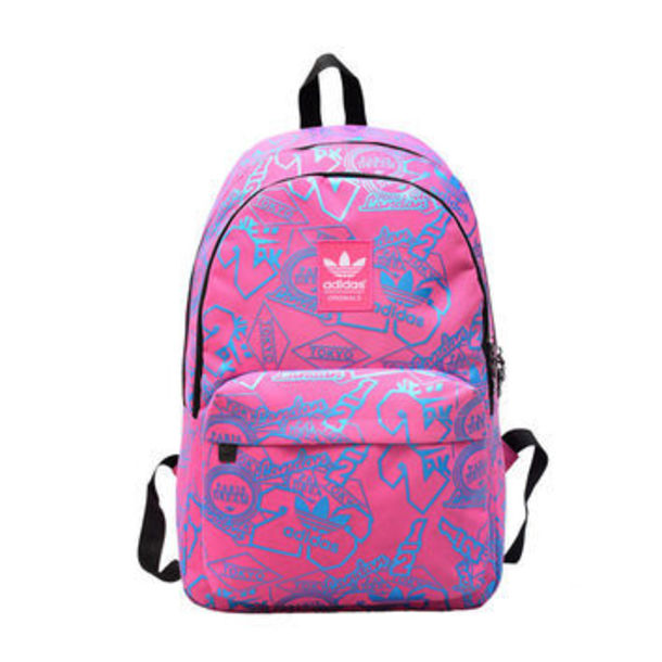 bag pink and blue adidas