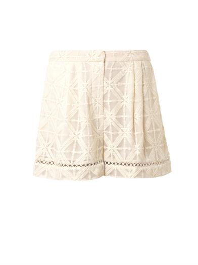 Haze cross-stitch shorts | Zimmermann | MATCHESFASHION.COM