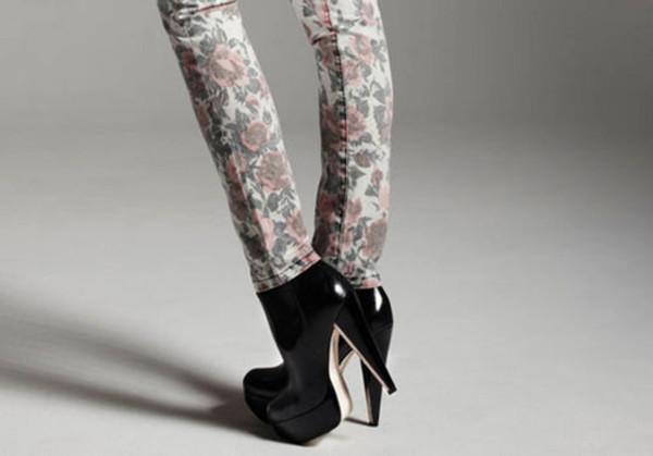 christian louboutin men shoes - Christian Louboutin Moulage 140 Platform Booties Black [A63 ...