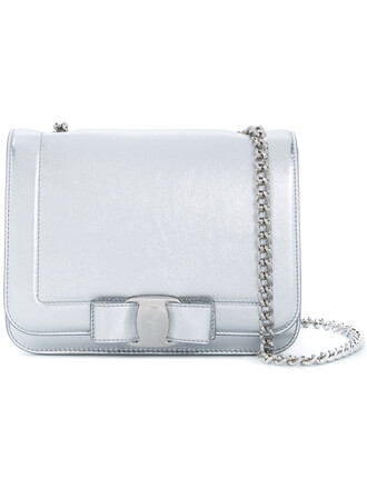 rainbow women bag crossbody bag leather grey