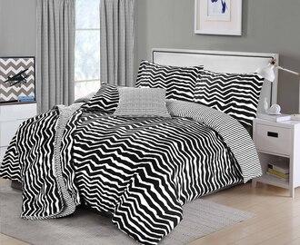 home accessory alex zebra zebra print black and white