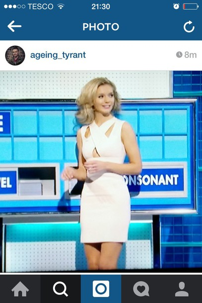 dress rachel riley cut-out dress mini skirt white dress