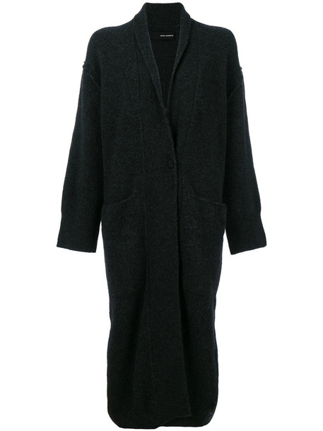 ISABEL BENENATO coat women spandex black