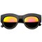 Amber lights matte revo mirror sunglasses | flyjane