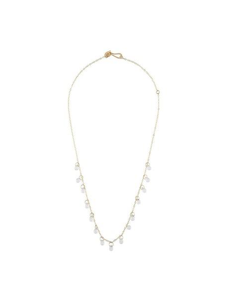 Melissa Joy Manning women necklace gold white yellow orange jewels