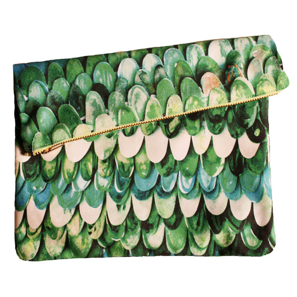 I liked this design on #Fab. Big Zipper Clutch Creature