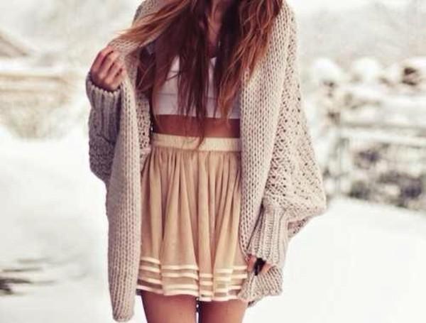 sweater skirt dress