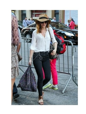 shirt jeans leighton meester