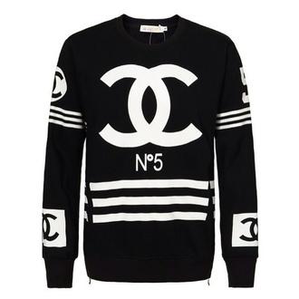 sweater black coco chanel