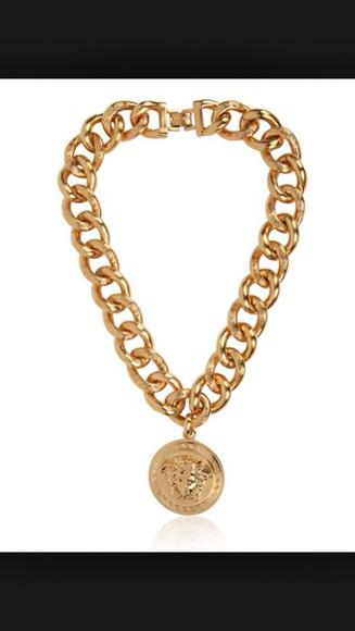 jewels necklace versace