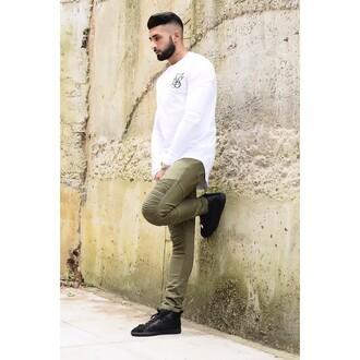 jeans maniere de voir khaki zara olive menswear
