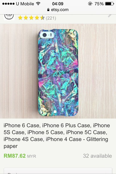 phone cover holographic iphone 6 case hologram´