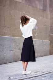 shoes,zara shoes,zara,oxfords,white shoes,skirt,black skirt,midi skirt,top,white top,spring outfits