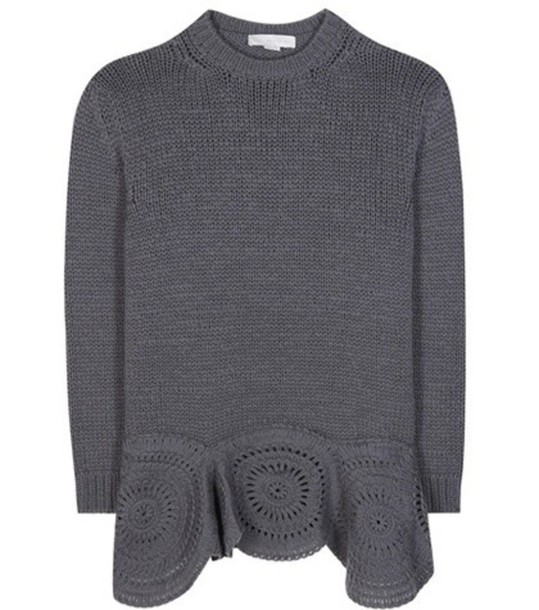 Stella McCartney sweater wool grey