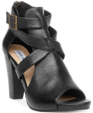 Steve Madden is an iconic shoe designer. Steve Madden's designs offer trendy and signature designs from the thick, chunky heel that became a phenomenon in women's shoes, to the popular