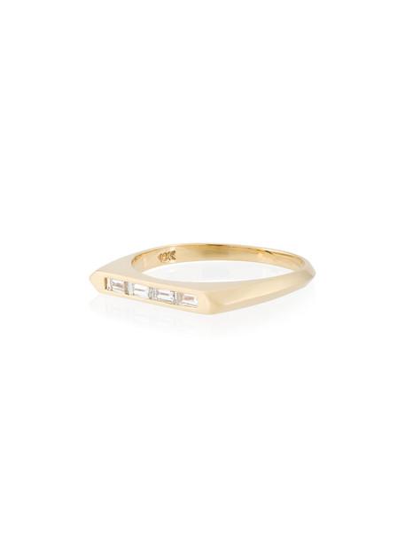 Lizzie Mandler Fine Jewelry women ring gold grey metallic jewels