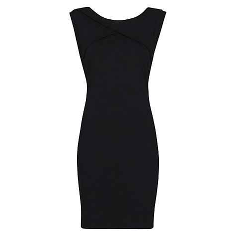 Buy mango origami jersey dress, black online at john lewis