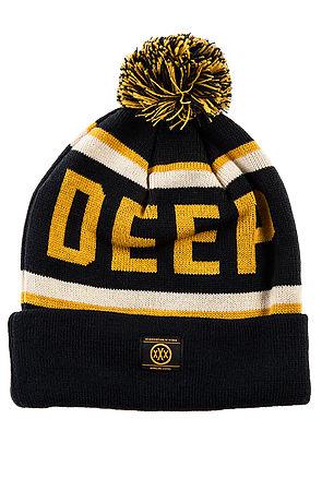 10 Deep Hat Deep Pom Pom Beanie in Blue -  Karmaloop.com