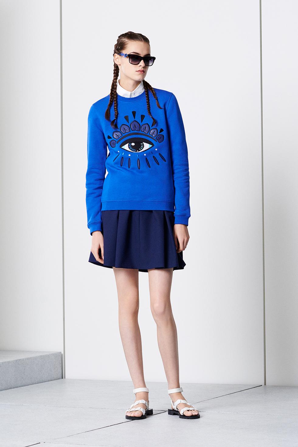 13d0b9c91b5 Kenzo Eye sweatshirt - Kenzo Sweatshirts & Sweaters Women - Kenzo E-shop