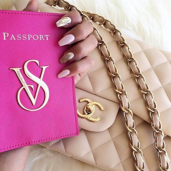 victoria's secret phone case passport cover