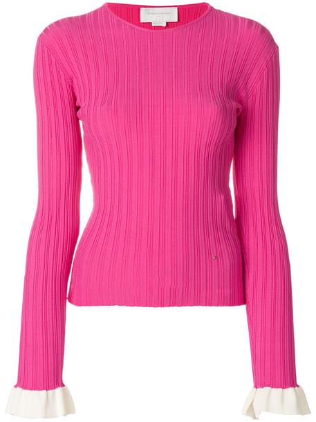 Esteban Cortazar jumper women cotton purple pink sweater
