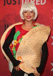 top,costume,halloween costume,sarah hyland,celebrity