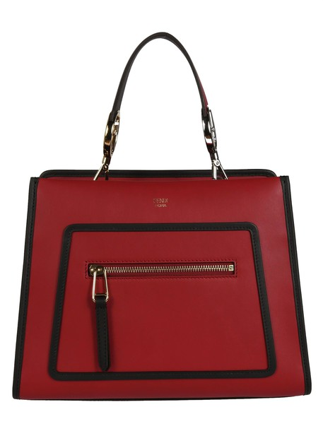 Fendi runway bag shoulder bag red