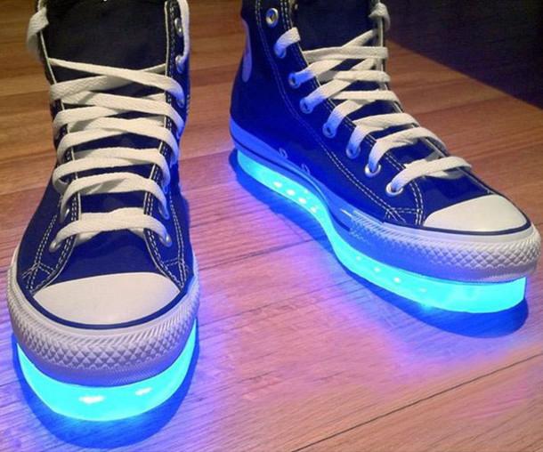 92ade9302b9 shoes high tops light up converse