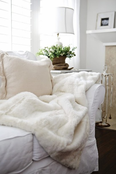 Sweater Fluffy White Soft Cozy Warm Winter Outfits Bedding Bedroom Tumblr