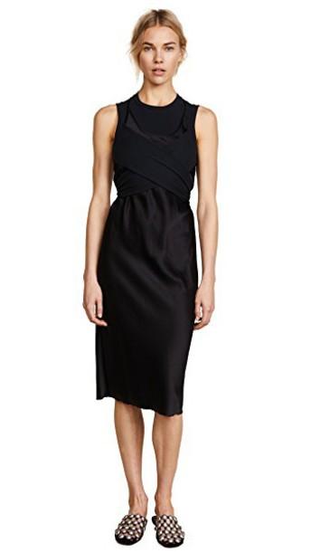 T by Alexander Wang dress black