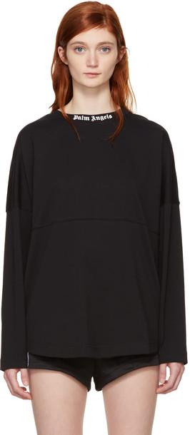 Palm Angels t-shirt shirt t-shirt oversized black top