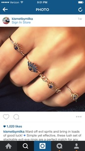 jewels,style,fashion,ootd,evil eye,knuckle ring