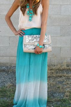Tie Dye Maxi on Pinterest
